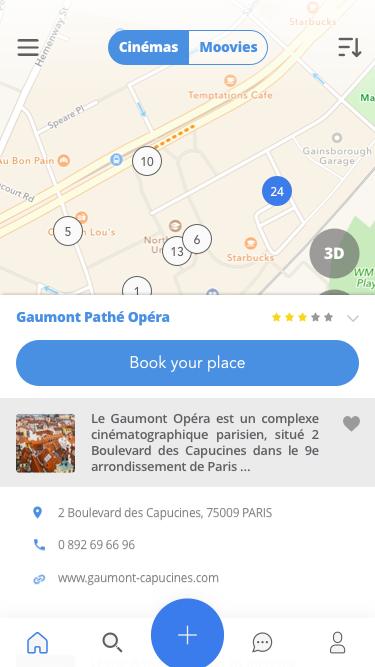 一款iOS风格电影APP   Moovie app concept
