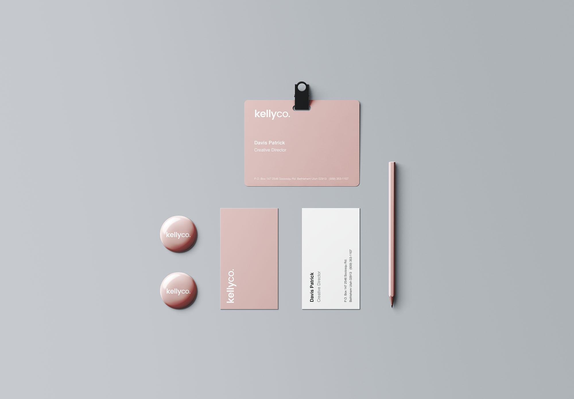 多用途品牌设计品牌VI设计样机智能贴图Premium Branding Mockup-20190331T103132Z-001