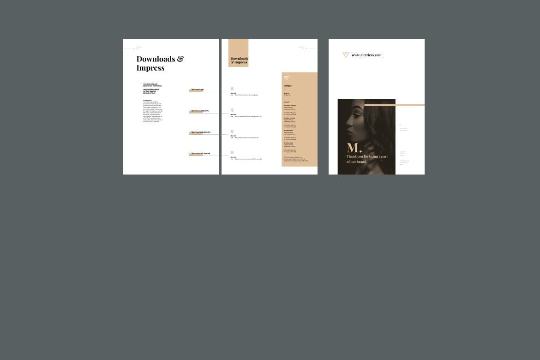 企业品牌VIS系统识别系统模板素材模板Brand Guideline