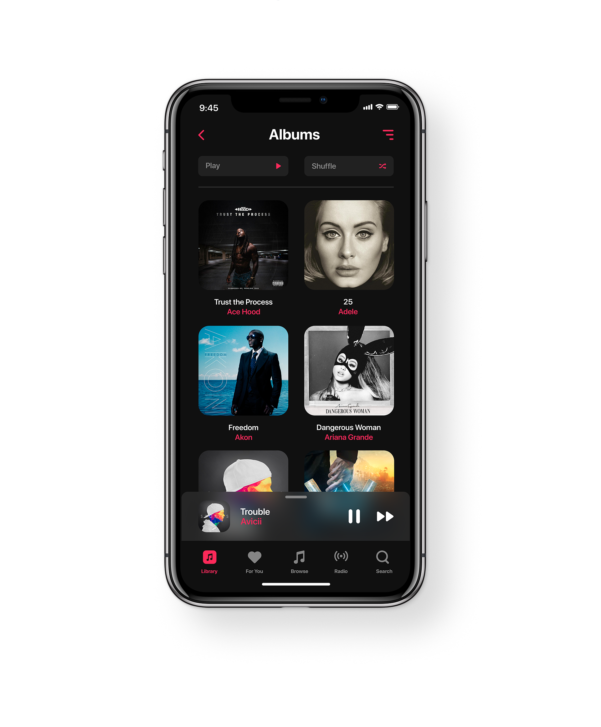 Apple音乐应用APP