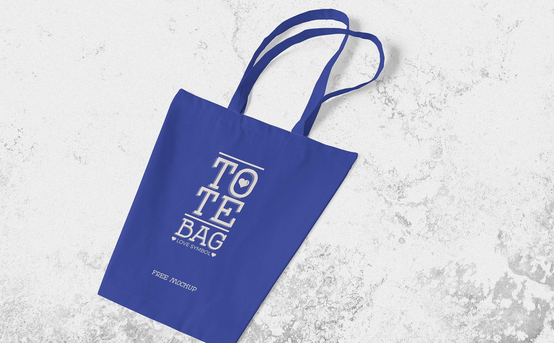 布艺手提袋场景样机  智能贴图样机展示 Professional Cotton Bag Mockup