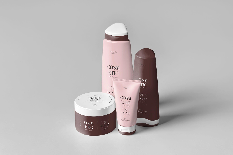 洗化用品包装瓶包装组合套装样机Cosmetic Mock-up 7