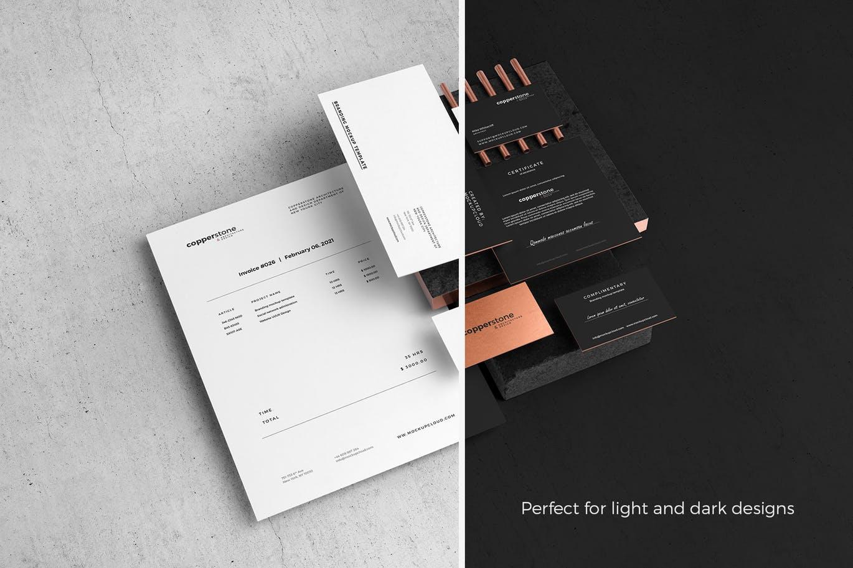 轻奢质感品牌VI名片信封信纸样机展示Tote bag mockups 3483276