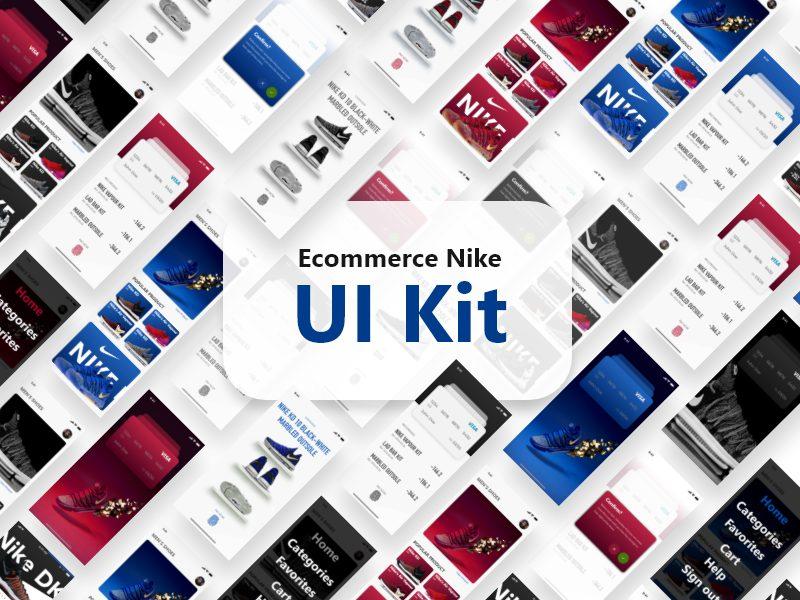 Nike服装电子商务应用APP Nike UI Kit