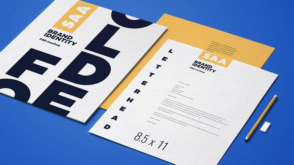品牌样机精选企业品牌VI样机Identity Design Mockup Set