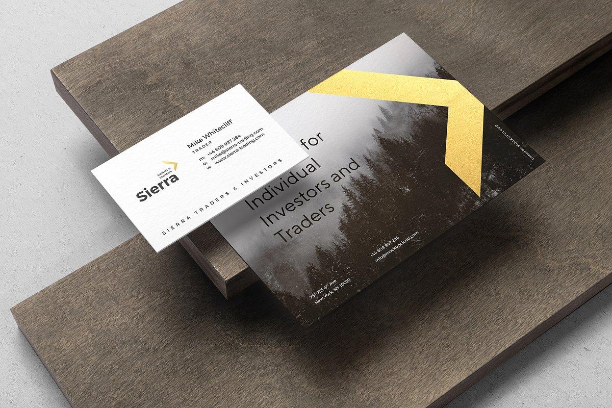 (精品)经典配色高端专业逼真质感的房地产VI品牌sierra-branding-mockup-vol-2