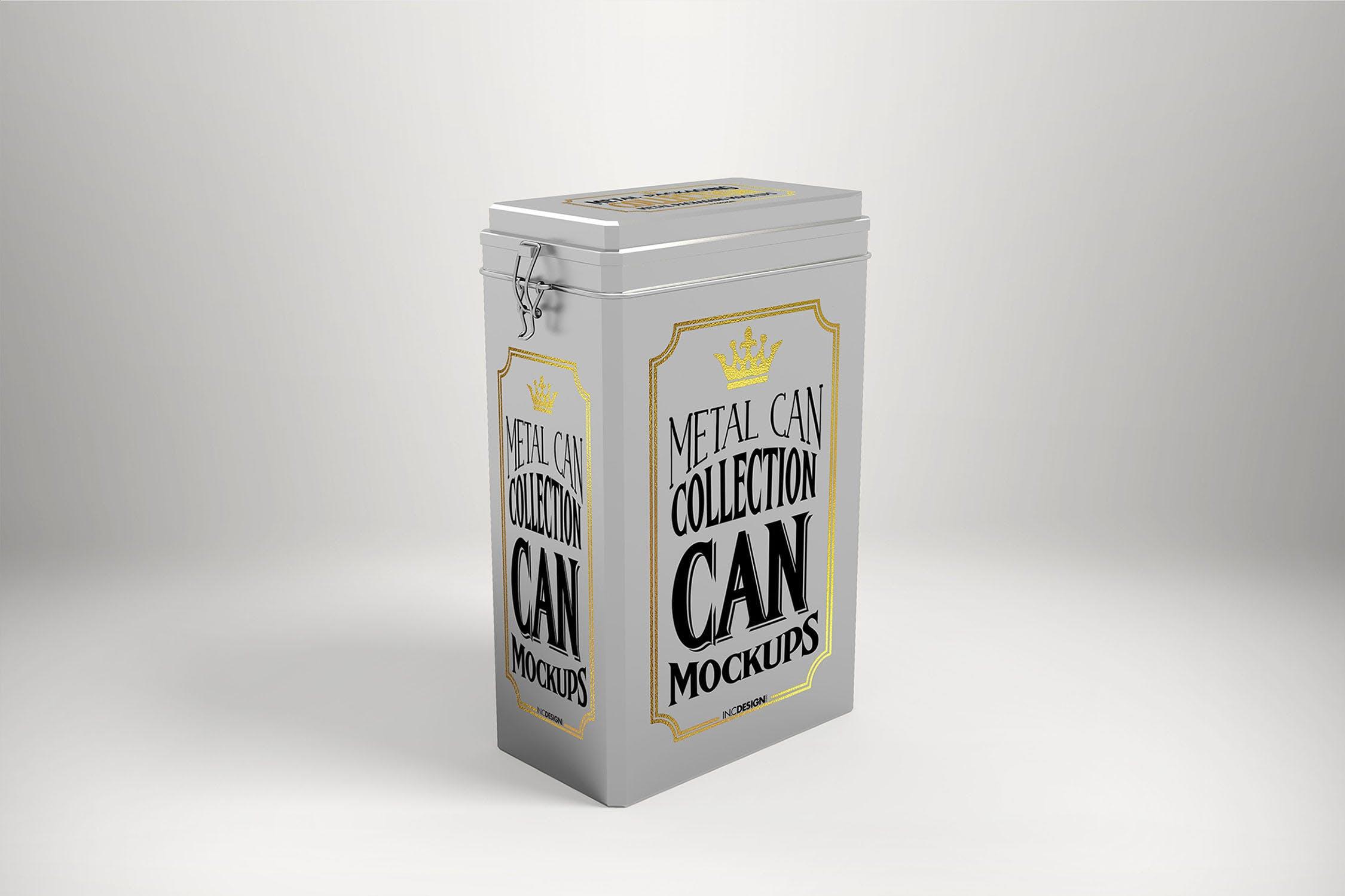 (精品)金属罐包装盒样机模板展示素材Vol. 3 Metal Can Mockup Collection