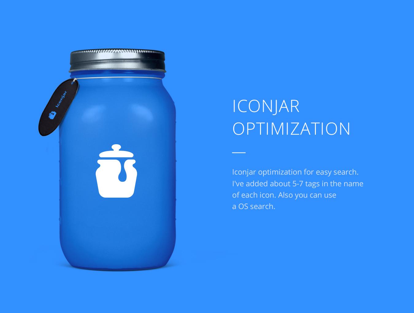 ICON图标蓝色风格线面 APP空状态UI设计 Neptune Icons