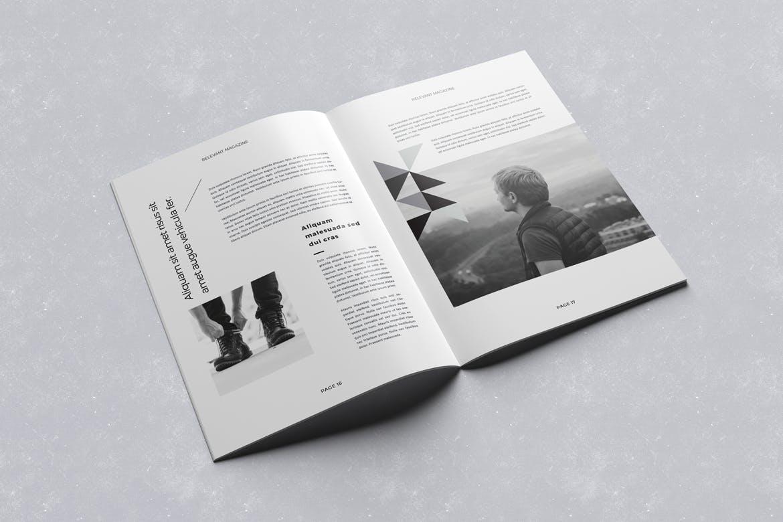 个性时尚杂志模板素材下载Magazine