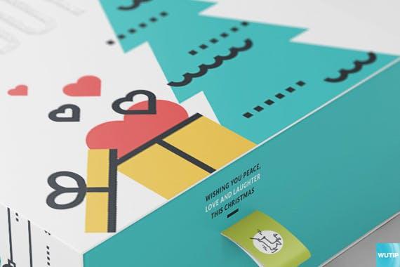 精致礼品包装盒素材样机模板Package Box Mock-ups Vol10