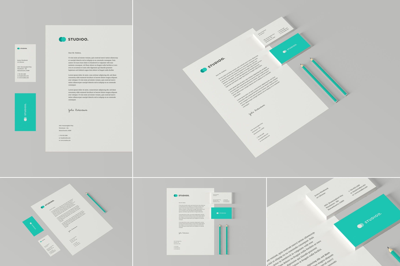 律师事务品牌VI识别系统样机素材下载Law Firm Branding