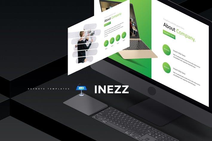 欧美时尚现代商务数据图表Keynote演示模版 Inezz - Keynote Template