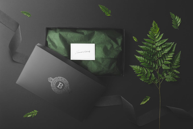花卉包装和品牌样机素材下载Floral Packaging and Branding Mockups