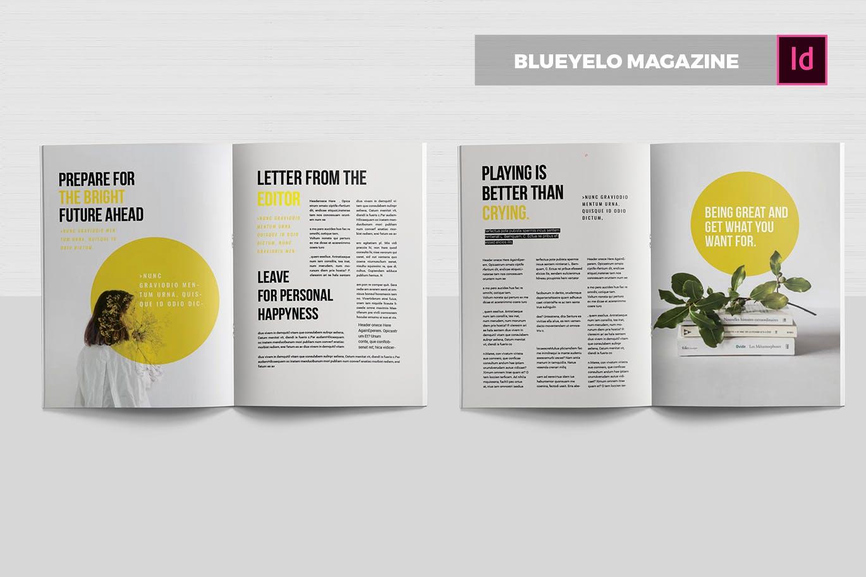 植物鲜花类画册杂志素材模板下载Blueyelo | Magazine