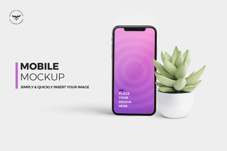 手机场景样机素材模板展示效果图Mobile Mockups