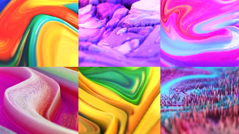 熔岩| 抽象背景素材模展示Lava | Abstract Backgrounds Part. 2