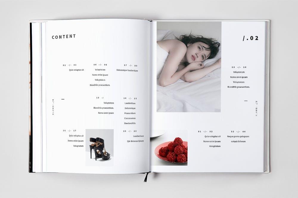 现代时尚杂志流行服装素材下载Medern Fashion Magazine