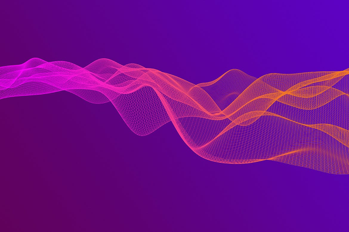 渐变网络波背景Gradient Network Wave Backgrounds