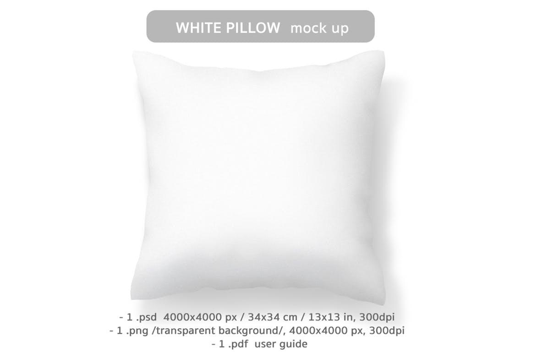 精致抱枕系列组合包装样机素材模板展示Pillow Mockup