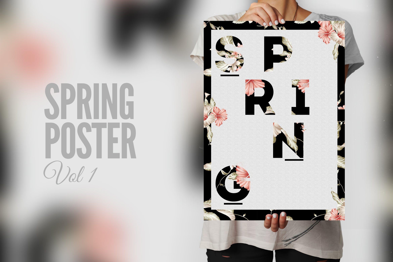 春季海报模板展示素材Spring Season Poster