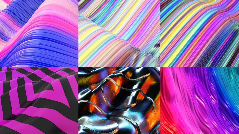 渐变粒子线条背景素材下载Lava Abstract Backgrounds Part. 6