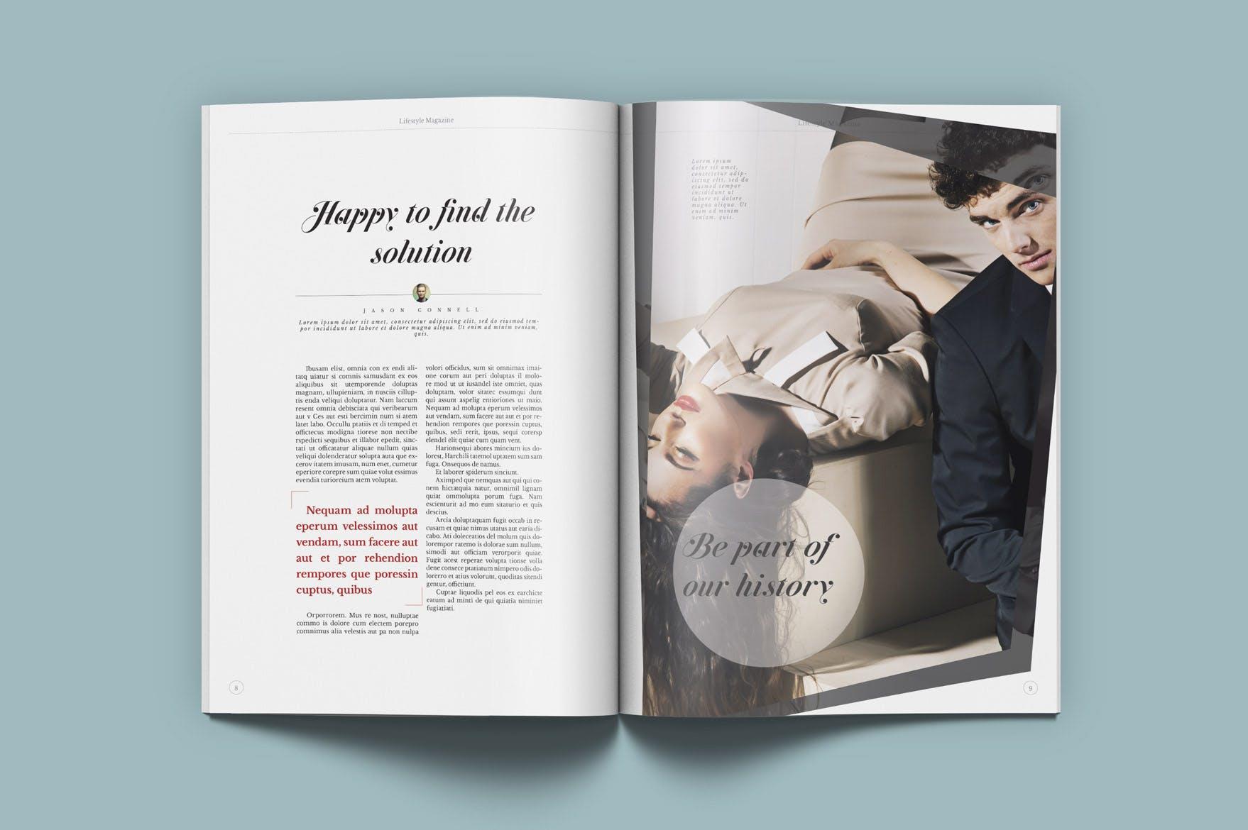 生活时尚杂志Lifestyle & Fashion Magazine