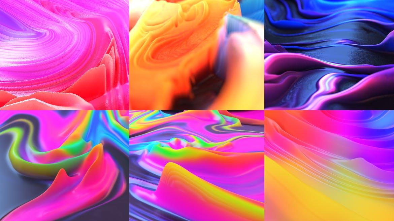熔岩渐变背景素材下载Lava Abstract Backgrounds Part. 3