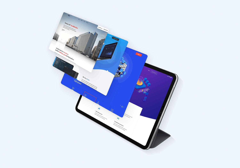 平板样机素材模板展示样机素材模板展示iPad Pro 2018 Mockup Vol3