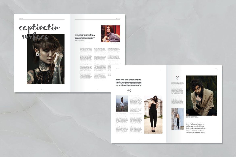 艺术类画册模板素材下载Artmode Magazine