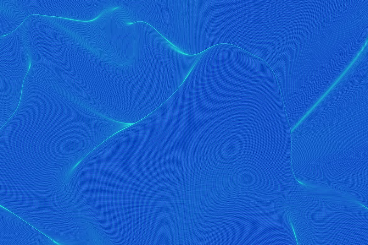 波浪网络背景Wavy Network Backgrounds