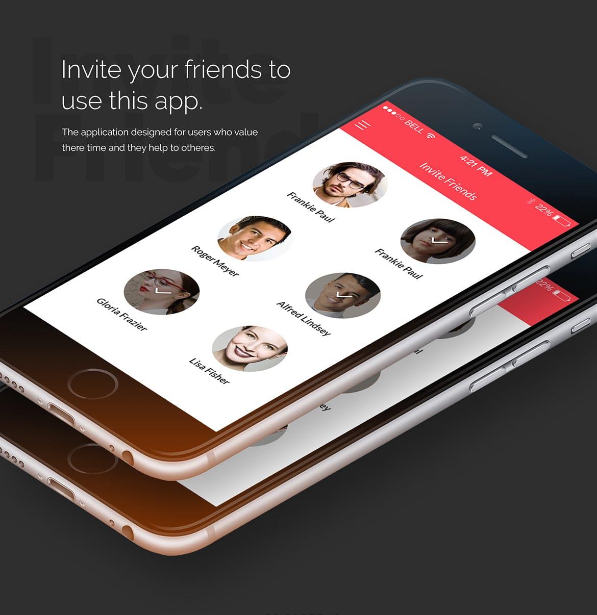国外汽车出租用应用程序APP设计 UI设计 Zocari -Car Rent App Design