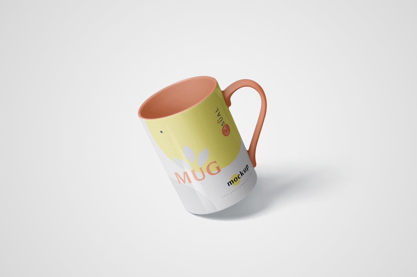 5个马克杯多视角展示样机素材模板5 Mug Mockups