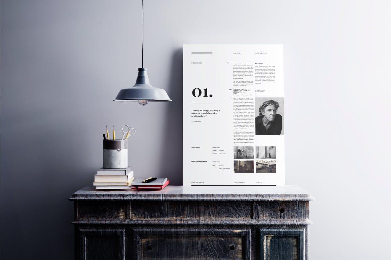 精致模板样机素材展示样机Nostalgia - A0 Posters