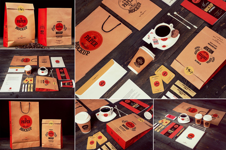 高端咖啡品牌样机素材模板展示下载Coffee Branding Mockups