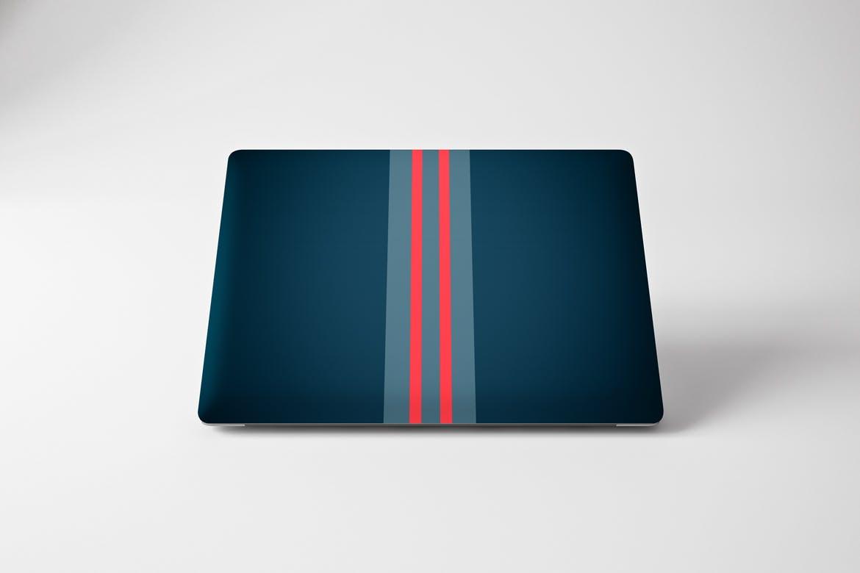创意笔记本电脑皮肤外观创意包装设计展示样机素材MacBook Pro Skin