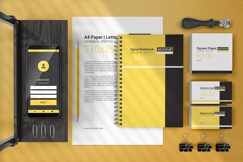 高端品牌VI形象识别系统素材展示样机下载Branding & Identity Mockups