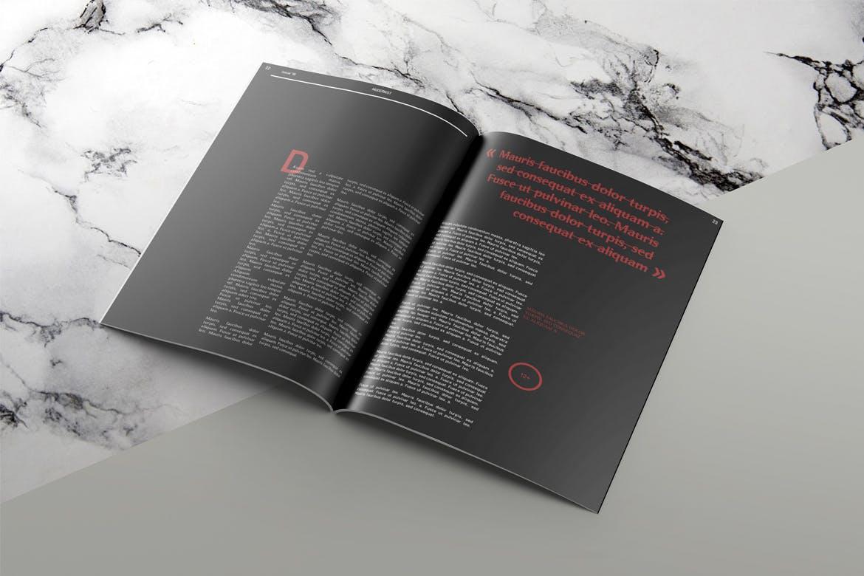 现代主义杂志画册模板素材下载Modernist Magazine