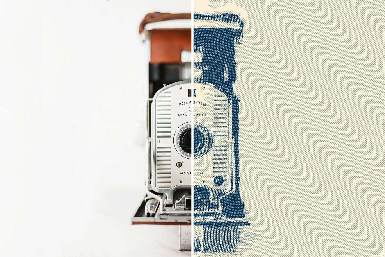 Photoshop磨损效果工具包 PS样式特效   Worn Press Photoshop Effects Kit
