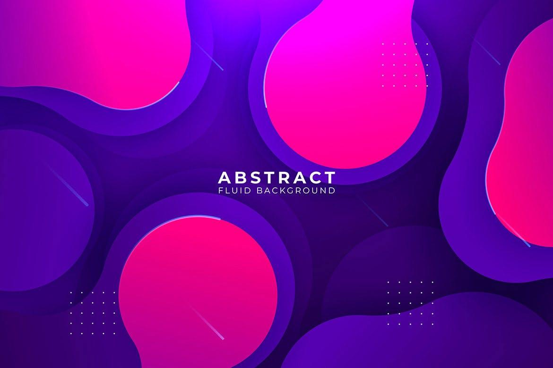 现代抽象液体背景Modern Abstract Liquid Backgrounds