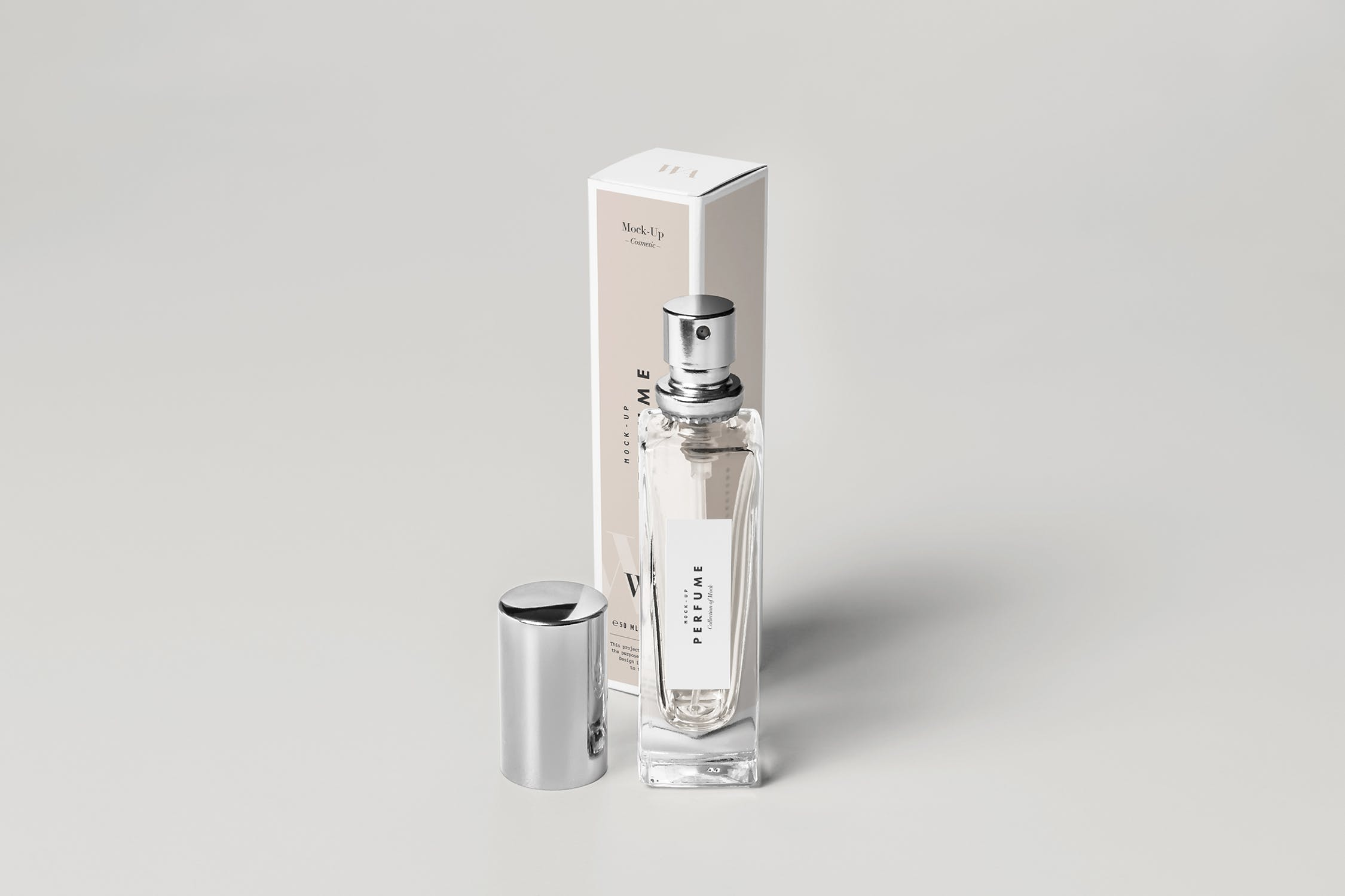 高端香水包装瓶样机素材下载Perfume Mock-up 2