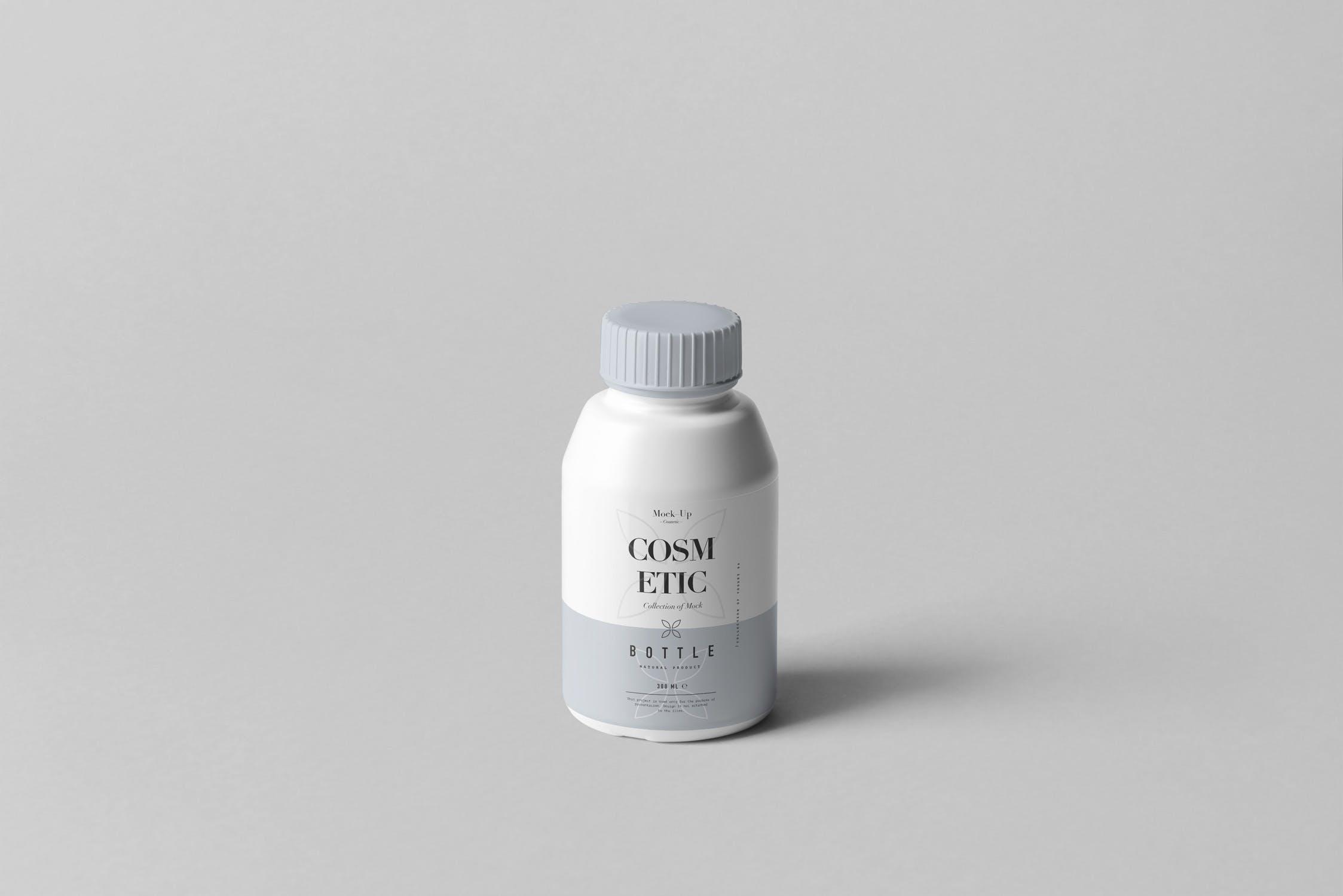 精致多场景化妆品样包装瓶样机Cosmetic Bottle Mock-up 3