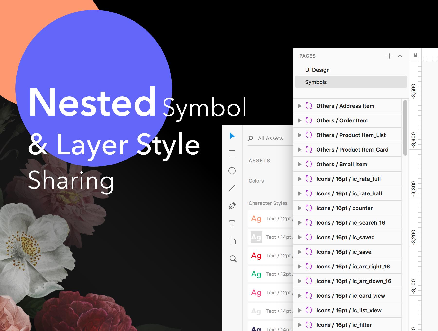 漂亮时尚的鲜花礼品礼物电商平台APP UI KIT套装模板iOS Ui app界面设计[Sketch,FIG] Fancy App UI Kit