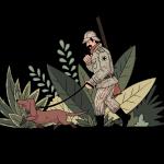[可商用]手绘卡通职场女人男人快递员科学家旅行家庭人物设计素材 B_eastwood插图15