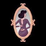 [可商用]手绘卡通职场女人男人快递员科学家旅行家庭人物设计素材 B_eastwood插图