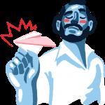 [可商用]免版权手绘职场女性男性卡通人物场景插画素材 B_cherry插图26