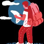 [可商用]免版权手绘职场女性男性卡通人物场景插画素材 B_cherry插图4