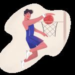 [ 可商用]免版权卡手绘卡通人物工作生活场景插画设计素材B_pale插图10