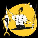 [可商用]黄色脑洞大开创意手绘卡通人物生活场景插画B_taxi插图16