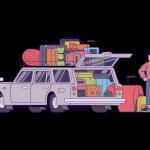 [可商用]手绘卡通职场女人男人快递员科学家旅行家庭人物设计素材 B_eastwood插图6