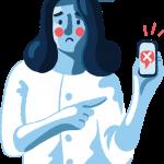 [可商用]免版权手绘职场女性男性卡通人物场景插画素材 B_cherry插图2
